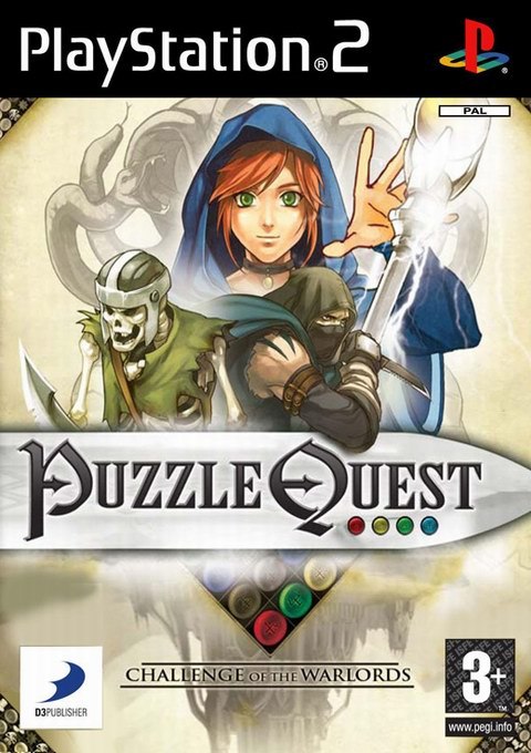 Puzzle Quest: Challenge of the Warlords, Игри за PlayStation2