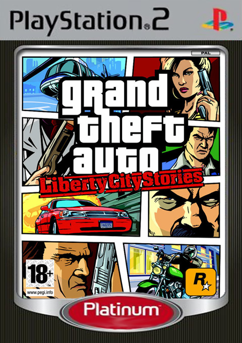 Grand Theft Auto: Liberty City Stories - Platinum, Игри за PlayStation2 - Увеличи снимката
