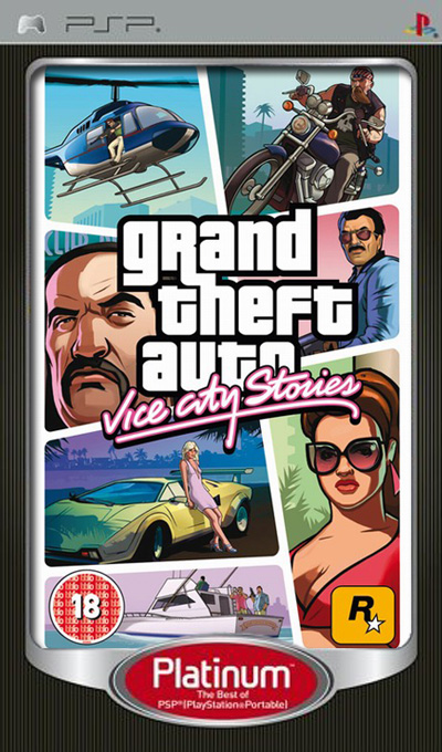 Grand Theft Auto: Vice City Stories - Platinum, Игри за SONY PSP - Увеличи снимката