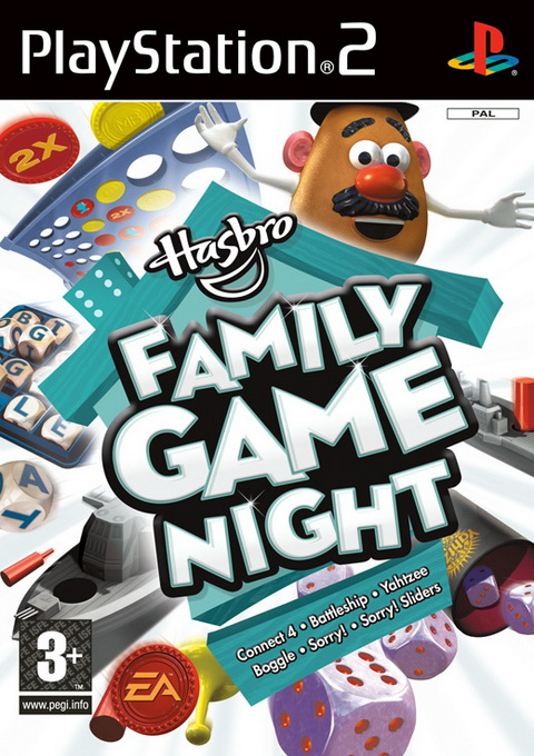 Hasbro Family Game Night, Игри за PlayStation2
