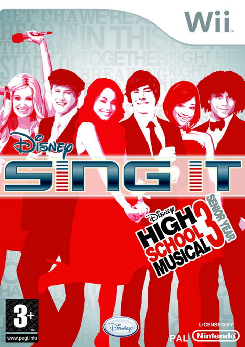 Sing It: High School Musical 3: Senior Year, Игри за Nintendo Wii
