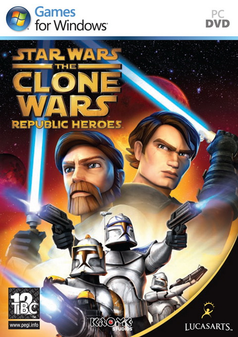 Star Wars The Clone Wars: Republic Heroes, Игри за PC