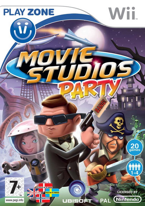 Movie Studios Party, Игри за Nintendo Wii