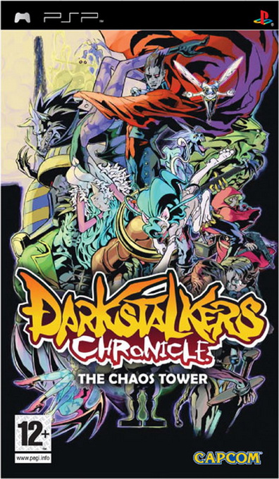 Darkstalkers Chronicle: The Chaos Tower, Игри за SONY PSP