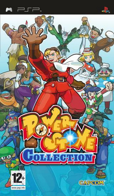 Power Stone Collection, Игри за SONY PSP
