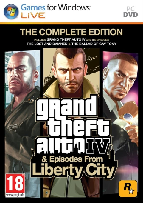 Grand Theft Auto IV Complete Edition, Игри за PC