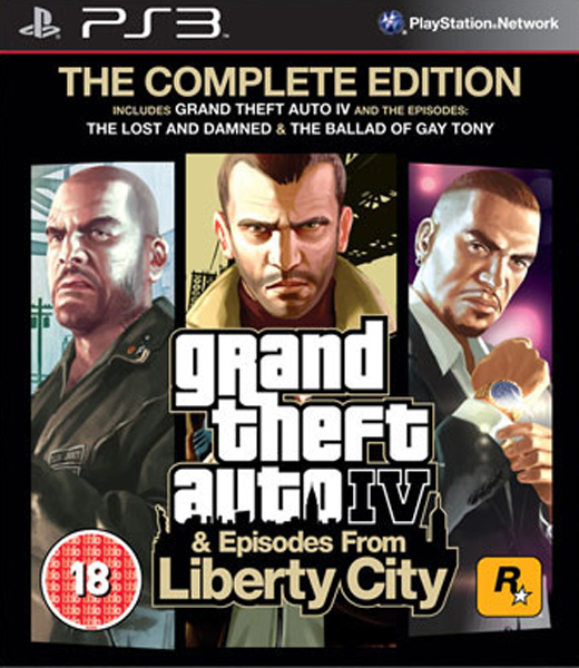 Grand Theft Auto IV Complete Edition, Игри за PlayStation 3