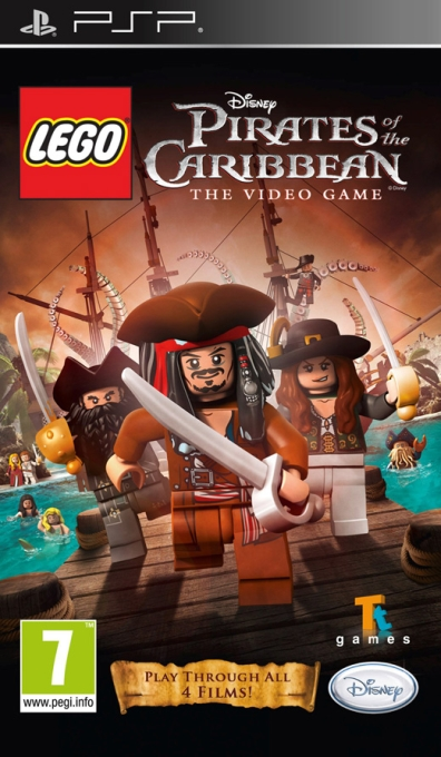 LEGO Pirates of the Caribbean: The Video Game, Игри за SONY PSP - Увеличи снимката