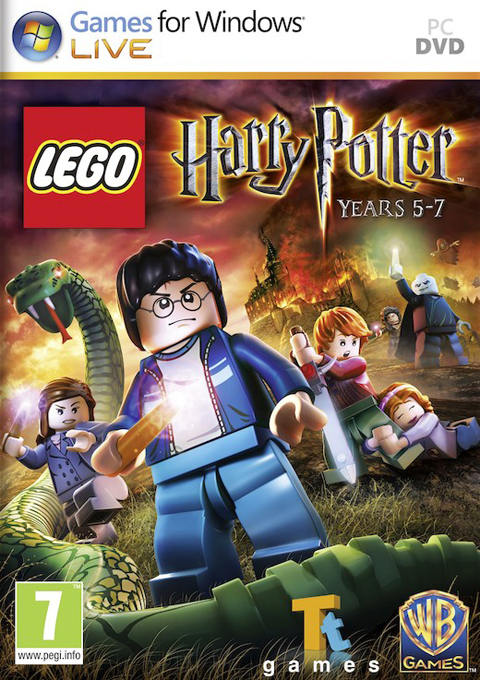 LEGO Harry Potter: Years 5-7, Игри за PC