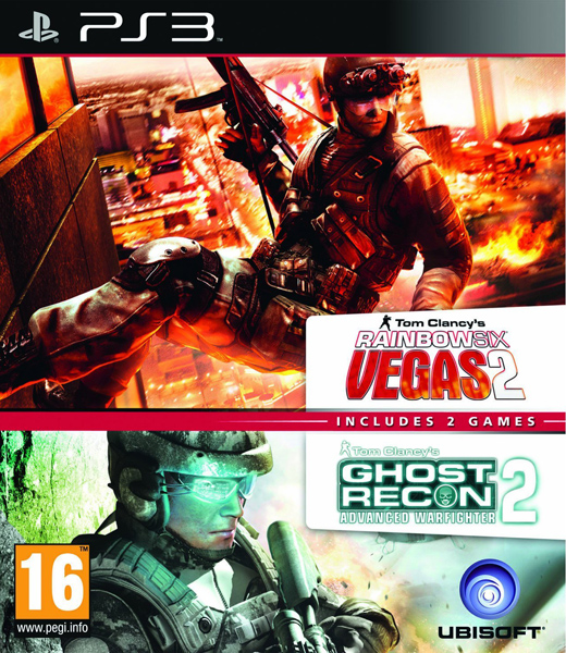 Rainbow Six Vegas 2 + Ghost Recon Advanced Warfighter 2 Пакет (2 в 1), Игри за PlayStation 3