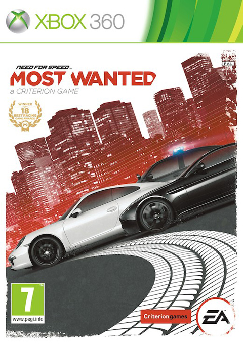 Need for Speed Most Wanted (2012), Игри за XBOX, XBOX360