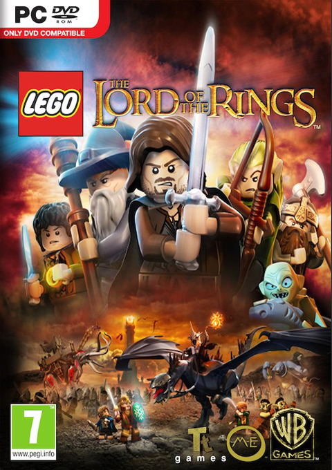 LEGO Lord of The Rings, Игри за PC