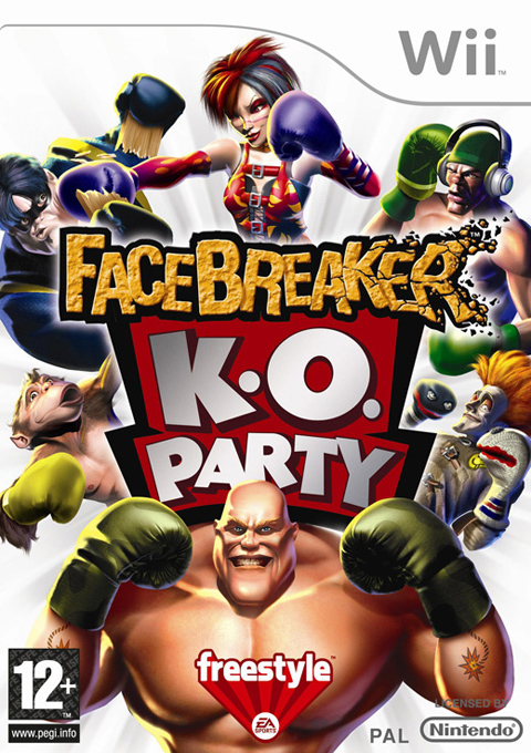 Facebreaker K.O. Party, Игри за Nintendo Wii