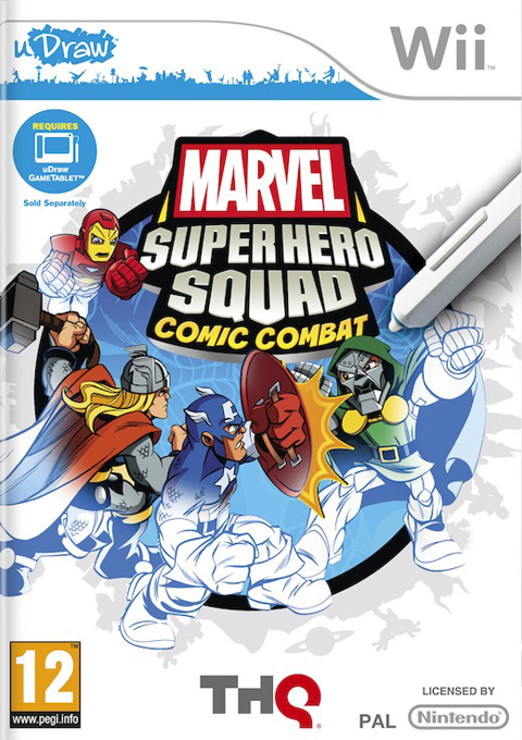 Marvel Super Hero Squad Comic Combat, Игри за Nintendo Wii