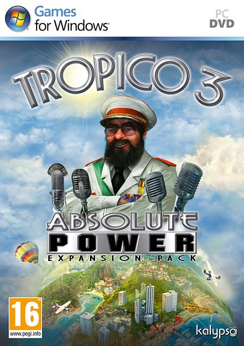 Tropico 3 Absolute Power Expansion Pack, Игри за PC