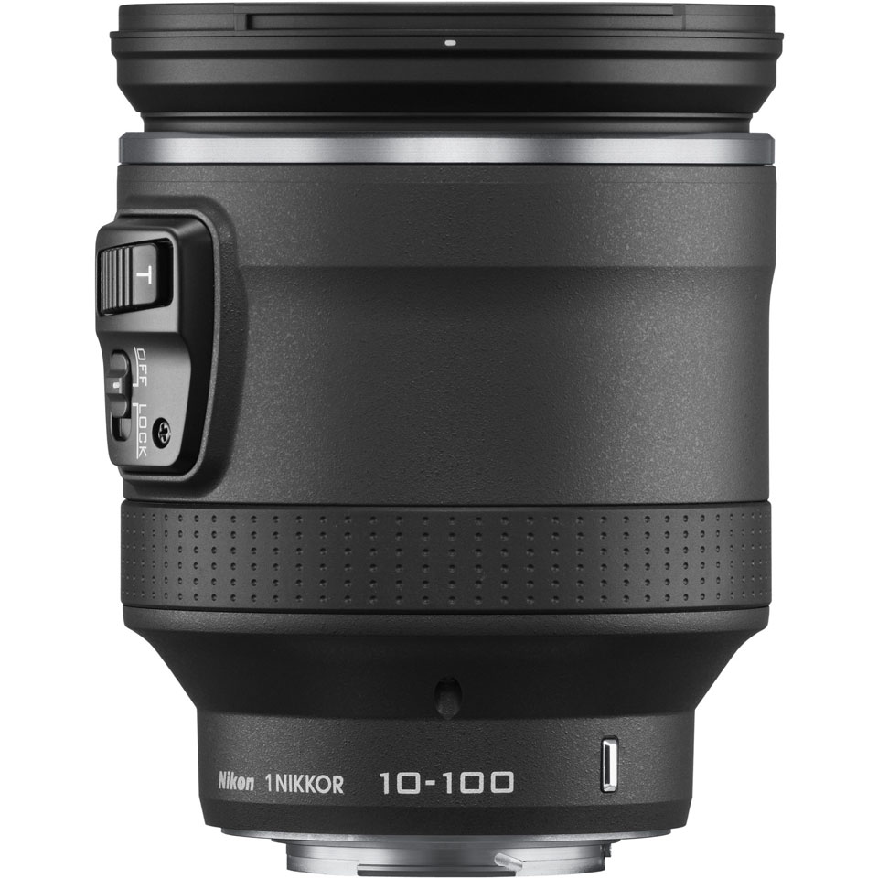 Nikon 1 NIKKOR VR 10-100 mm f/4.5-5.6 PD-Zoom, Обективи