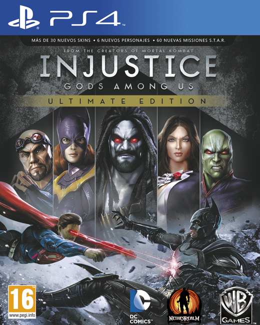 Injustice: Gods Among Us Ultimate Edition, Игри за PC