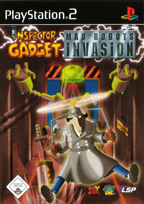 Inspector Gadget Mad Robots Invasion, Игри за PlayStation2