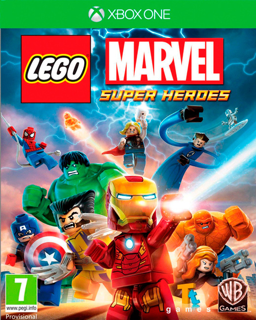 LEGO Marvel Super Heroes, Игри за PlayStation 3
