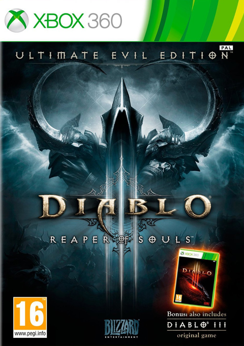 Diablo III: Reaper of Souls Ultimate Evil Edition, Игри за XBOX, XBOX360