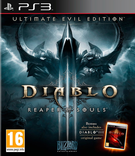 Diablo III: Reaper of Souls Ultimate Evil Edition, Игри за PlayStation 3
