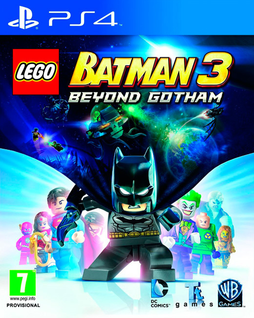 LEGO Batman 3: Beyond Gotham, Игри за PlayStation 3