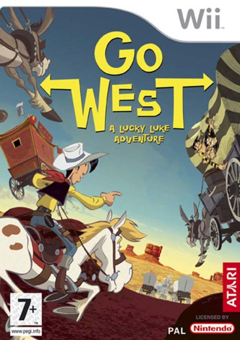 Go West! A Lucky Luke Adventure, Игри за Nintendo Wii