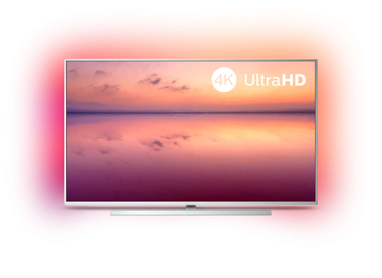 "Philips 43PUS6804/12, 43"" 4K UHD LED смарт телевизор"