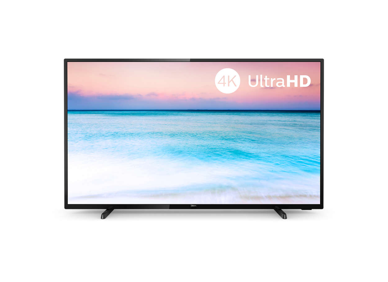 "Philips 50PUS6504/12, 50"" 4K UHD LED смарт телевизор"