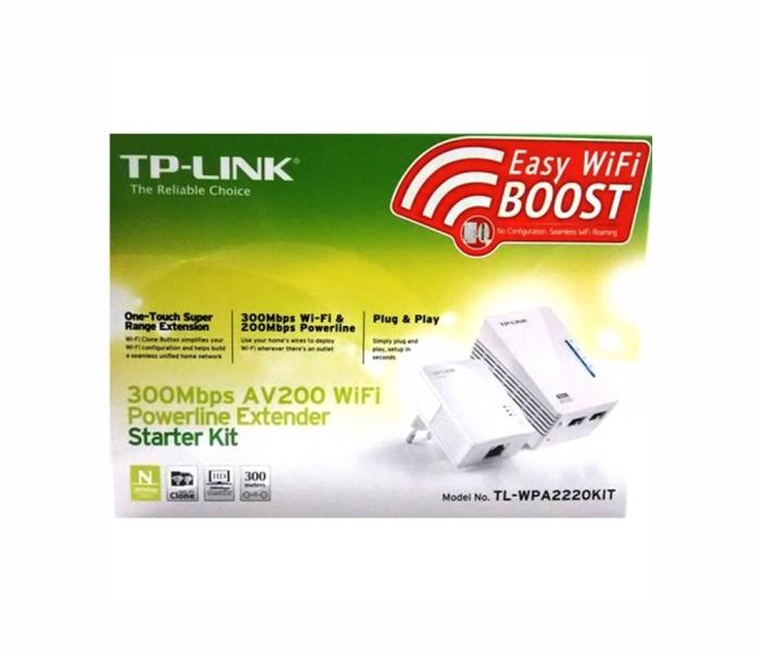 Адаптер PowerLine D-Link  DHP-W310AV/B1A Беспроводной PowerLine-адаптер N300 с поддержкой HomePlug AV