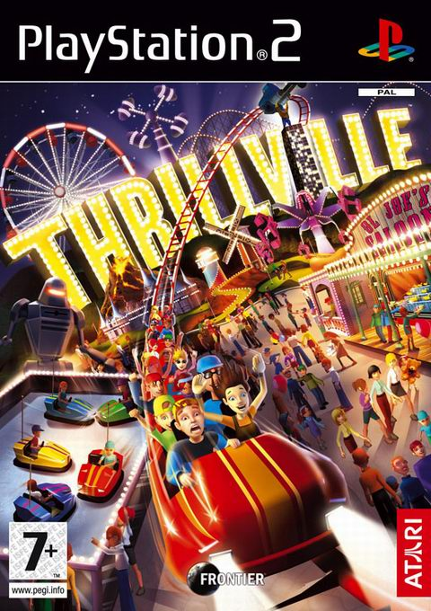 Thrillville, Игри за PlayStation2