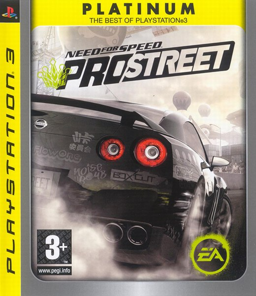 Need for Speed ProStreet - Platinum, Игри за PlayStation 3