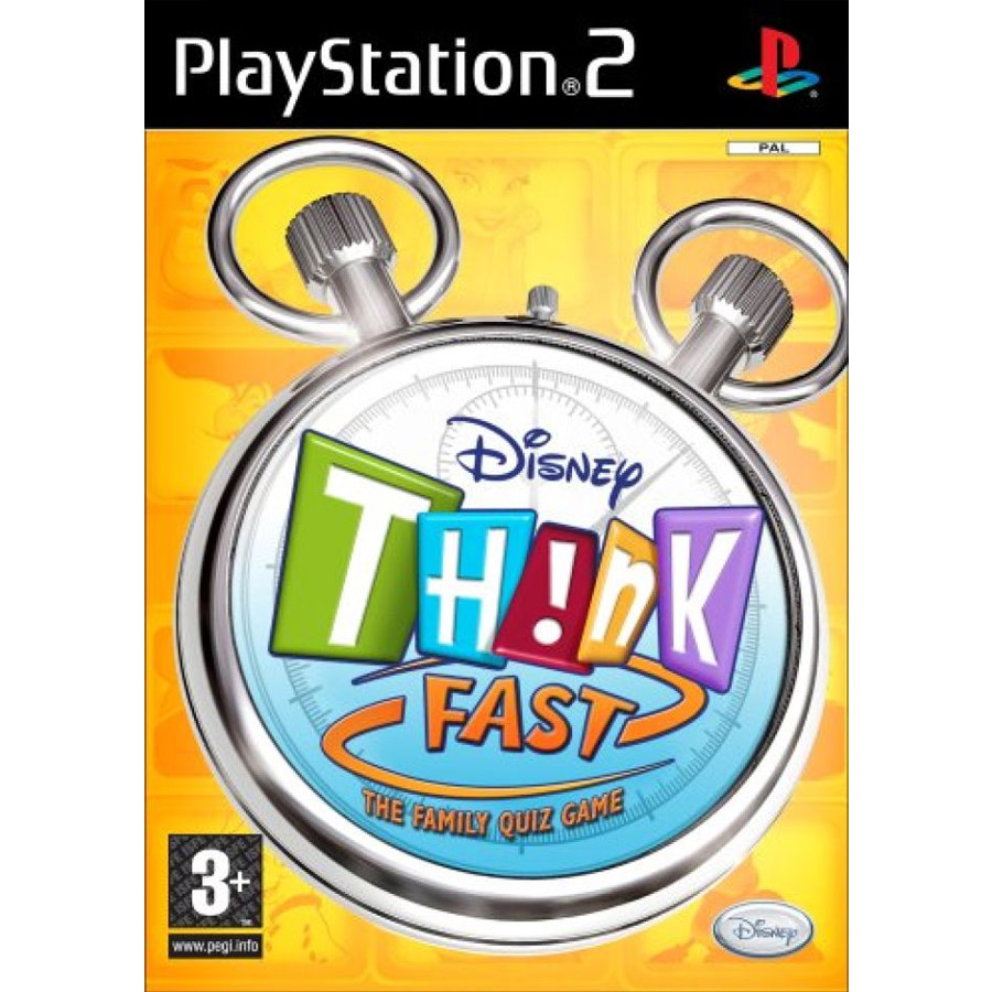 Disney: Think Fast With Buzz Controller, Игри за PlayStation2