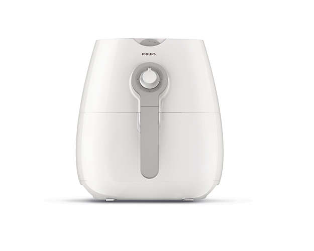 Philips Airfryer HD9216/80, Фритюрник Daily Collection, Капацитет 0.8 кг, Технология Rapid Air, 0.8 кг, Бял