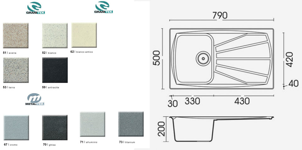 EUROLUX LIVING 300 GRANITEK Color 52 - ������� ��������