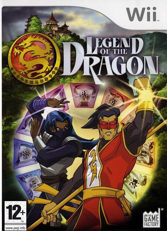 Legend of The Dragon, Игри за Nintendo Wii