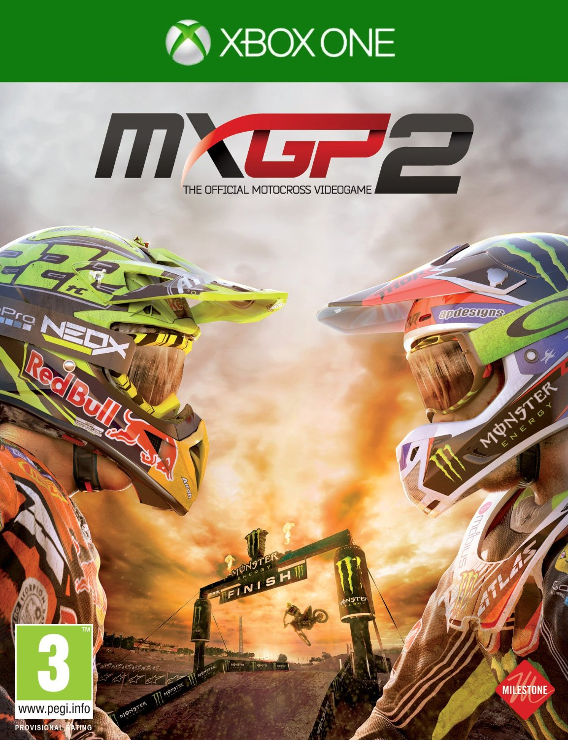 MXGP 2: The Official Motocross Videogame, Игри за PC