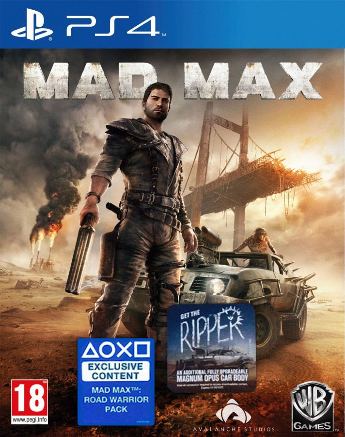 Mad Max + Road Warrior Pack DLC + Get the Ripper DLC, Игри за XBOX, XBOX360