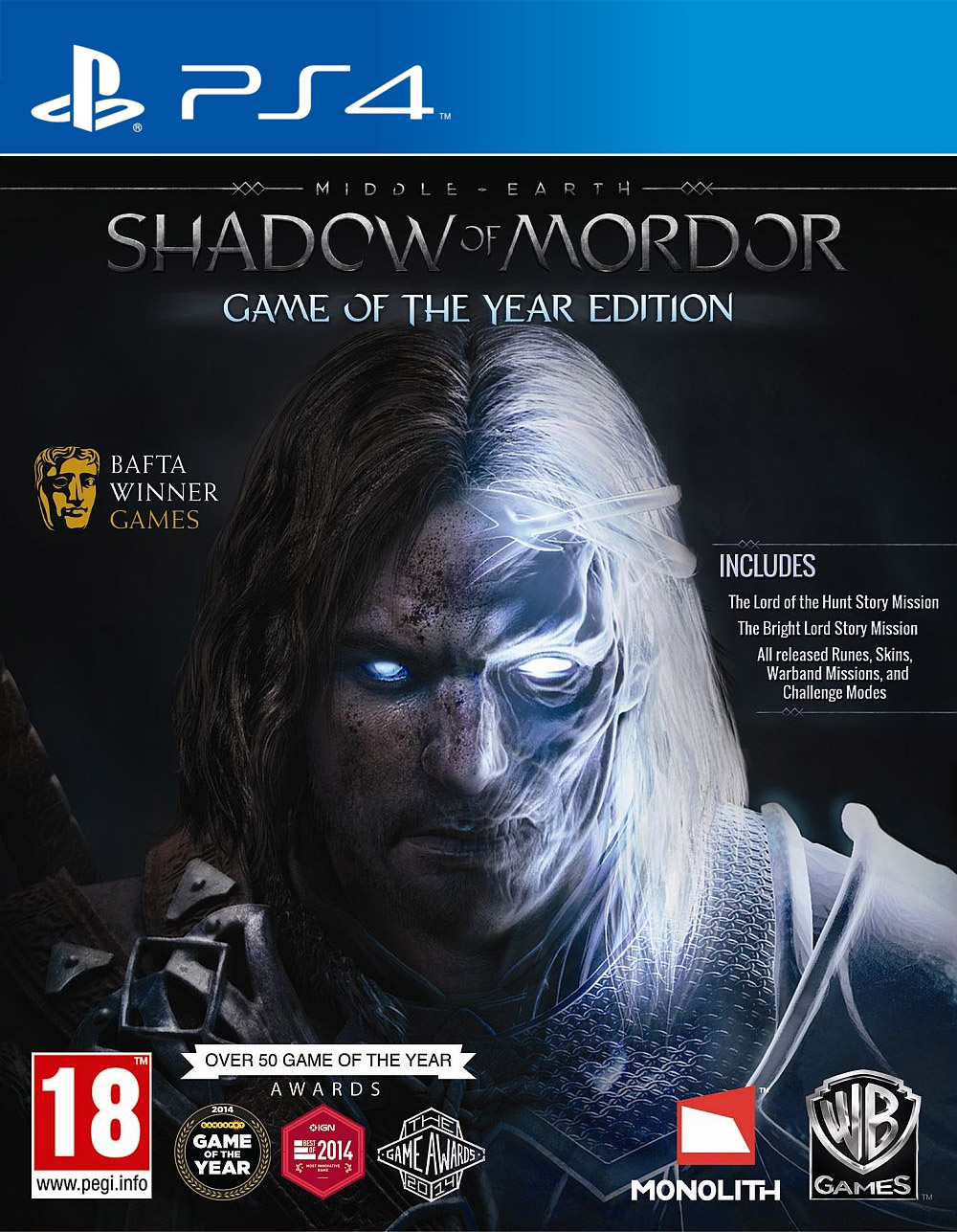 Middle-Earth: Shadow of Mordor GOTY Edition, Игри за Nintendo Wii