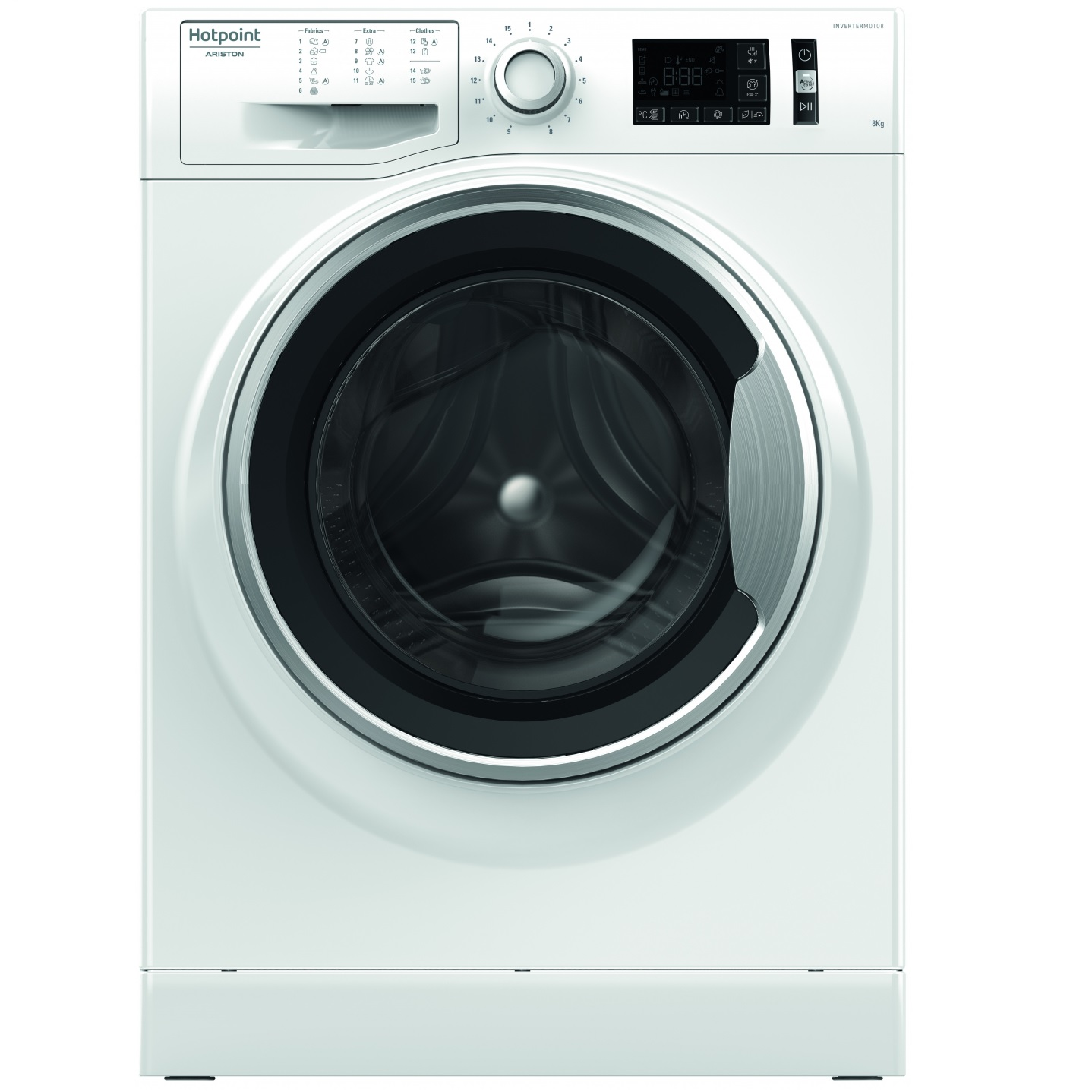 Hotpoint Ariston NM 11825 WSA EU, Перална машина 8 кг. А+++