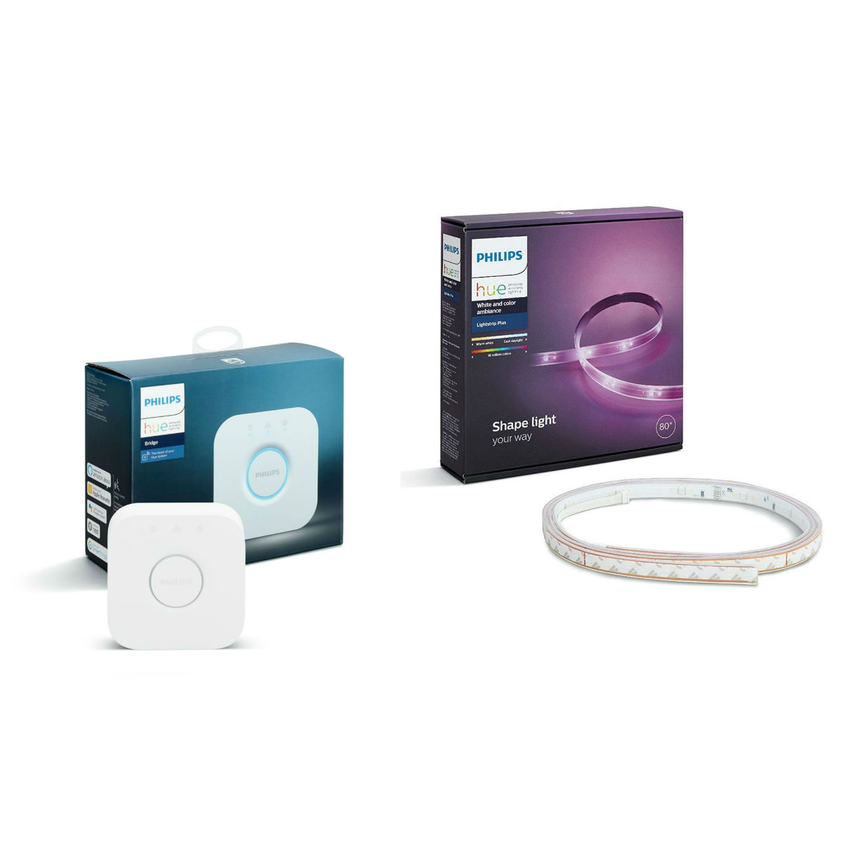 PHILIPS Bridge AppleHomeKit + Outdoor Strip 2m EU Autumn Philips HUE Color Promo