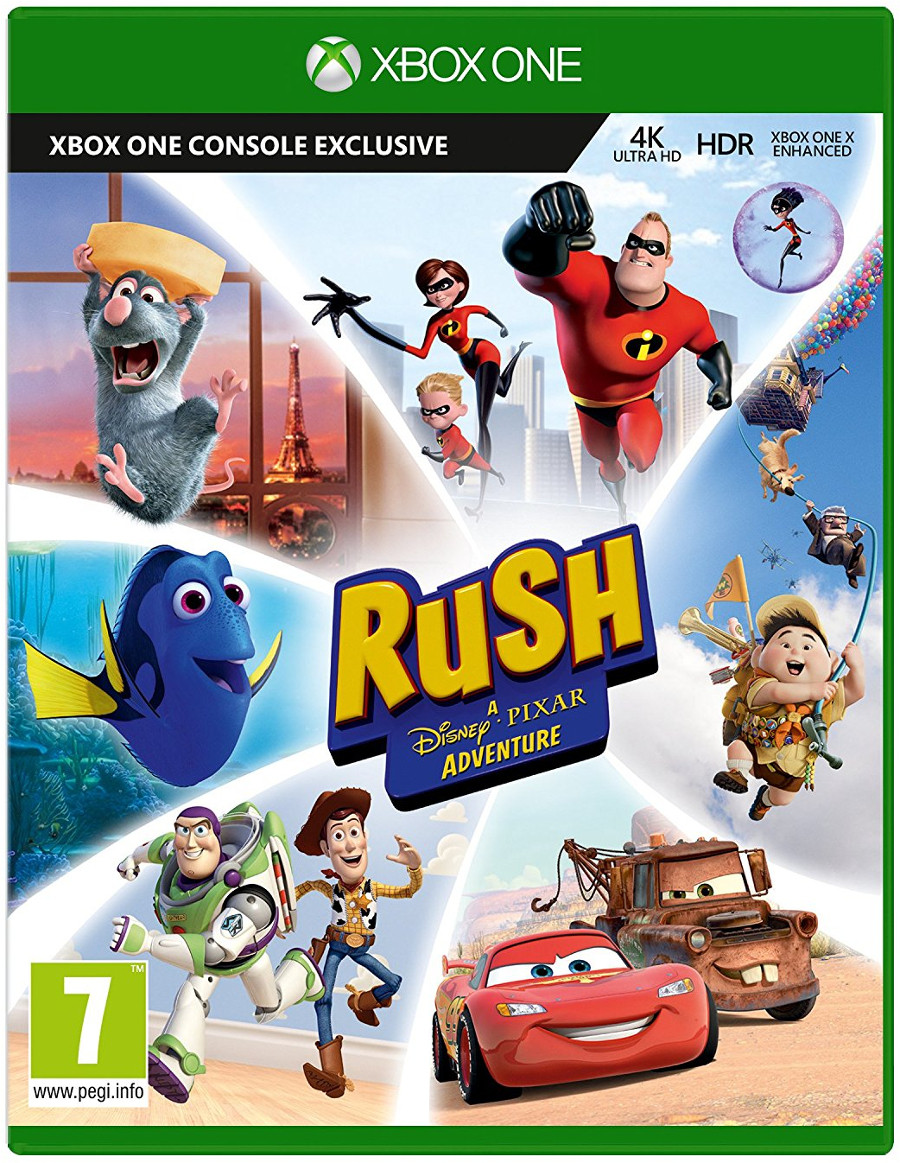 Rush: A Disney-Pixar Adventure, Игри за Nintendo Wii