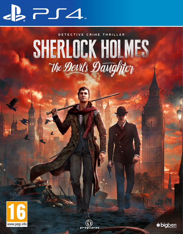 Sherlock Holmes: The Devil's Daughter, Игри за PlayStation 3