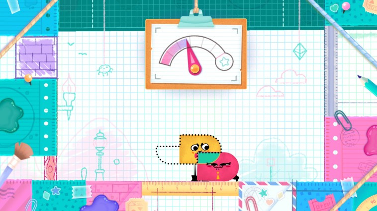 Snipperclips Plus - Cut it out, together!, Игри за Nintendo Wii - Увеличи снимката
