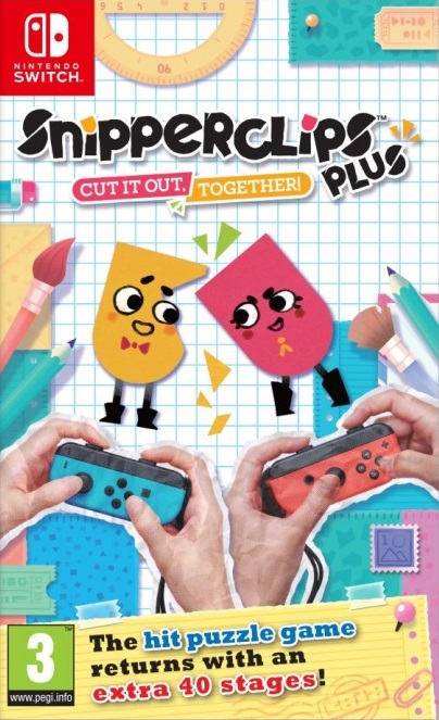 Snipperclips Plus - Cut it out, together!, Игри за Nintendo Wii
