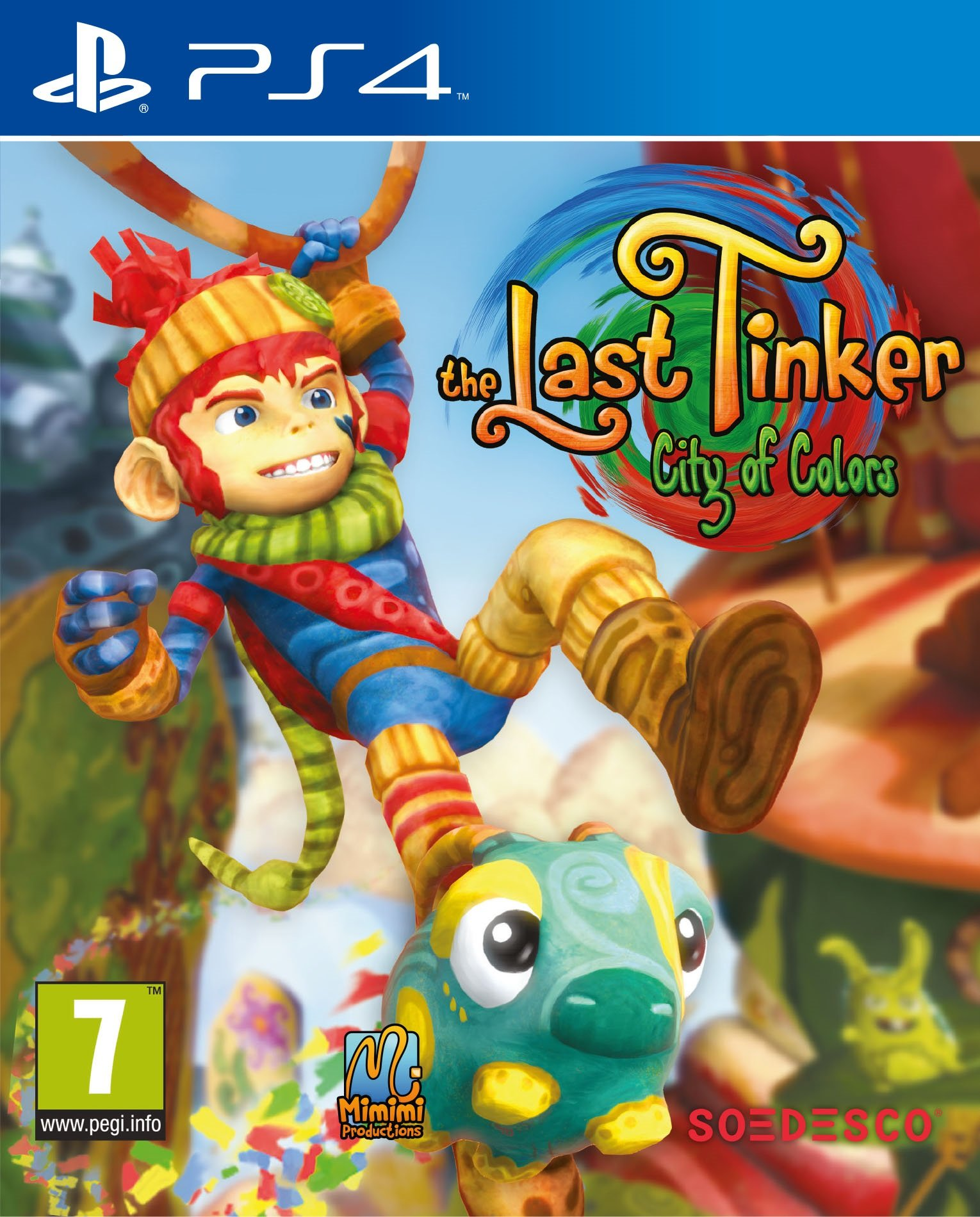 The Last Tinker: City of Colors, Игри за PC