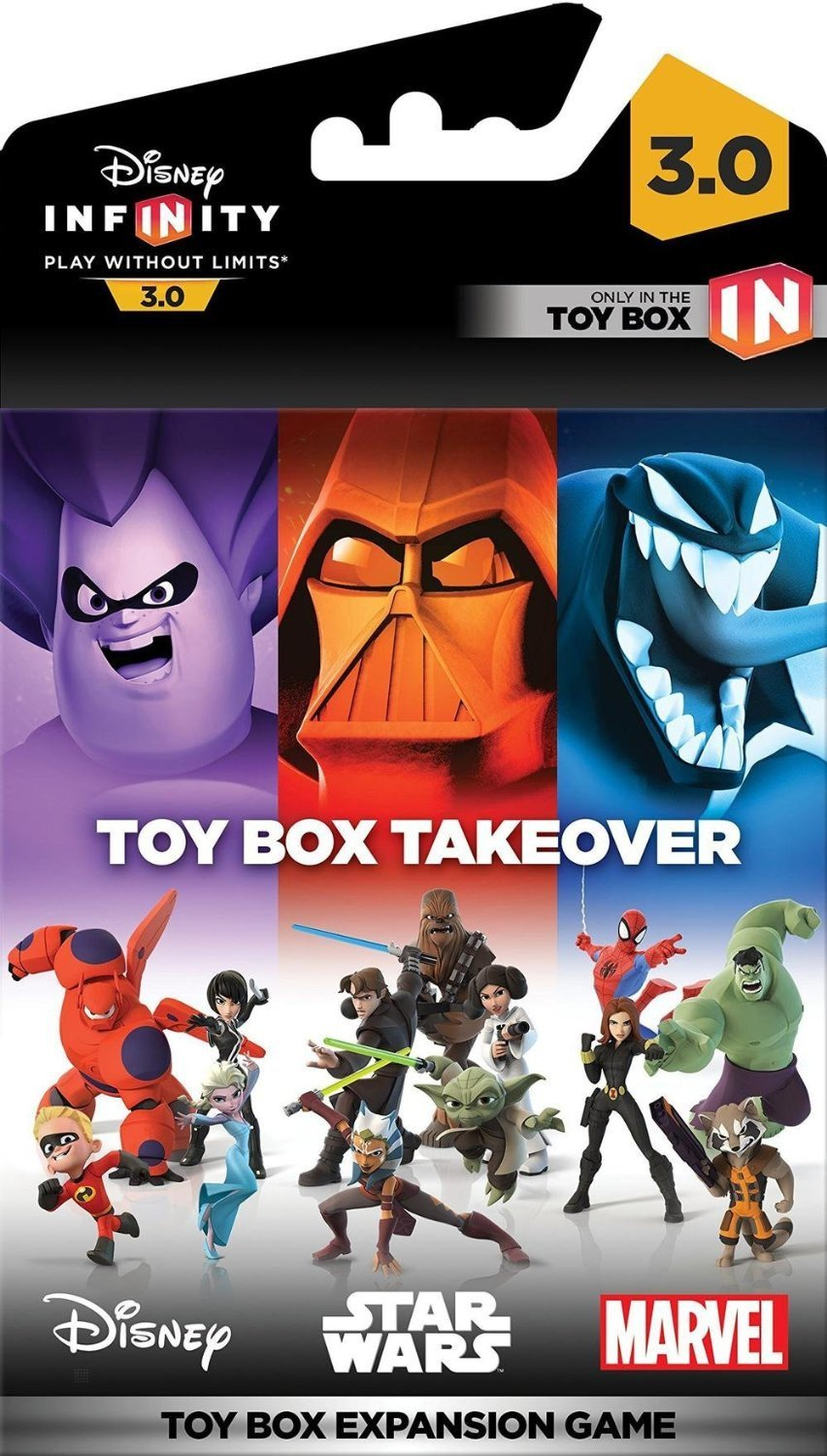Disney Infinity 3.0: Toy Box Takeover, Игри за XBOX, XBOX360