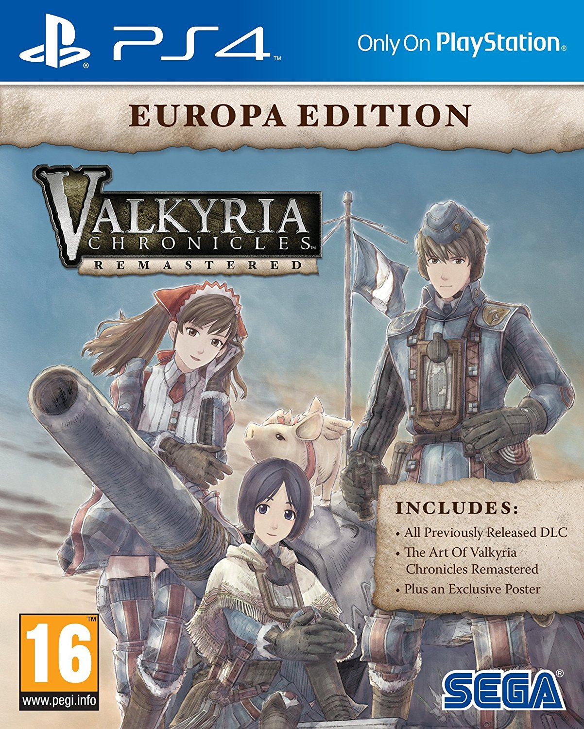 Valkyria Chronicles Remastered Europa Edition, Игри за PC