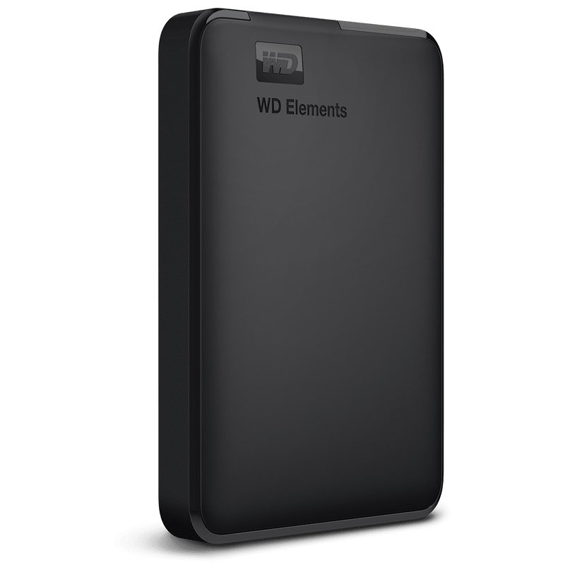 "Western Digital Elements Portable  2.5"" 4TB, Външен твърд диск, USB 3.0 (WDBU6Y0040BBK)"