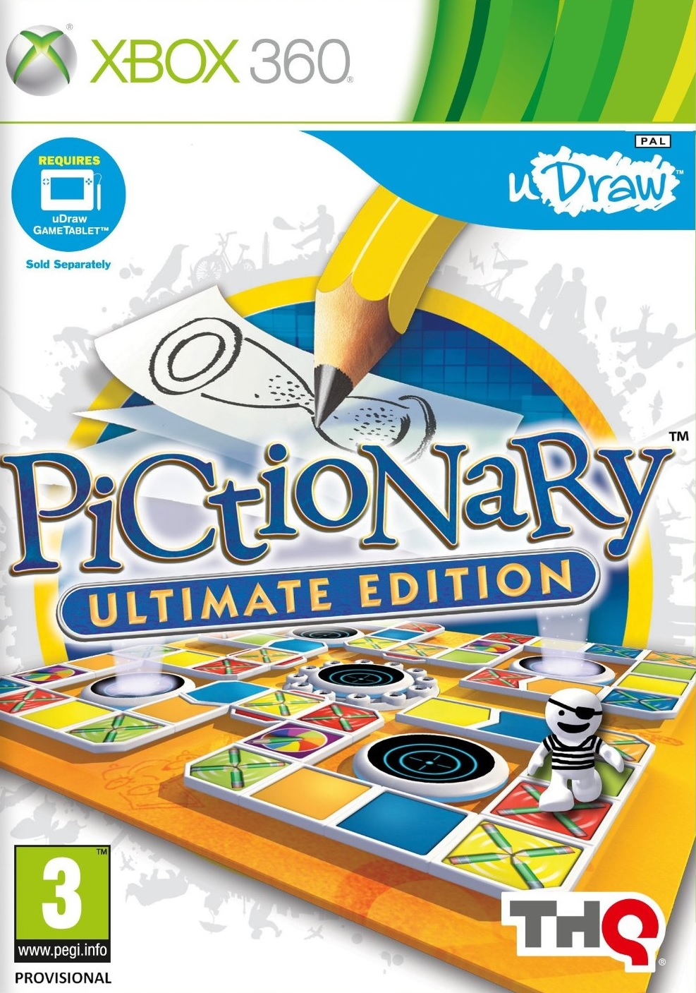 Pictionary Ultimate Edition, Игри за Nintendo Wii